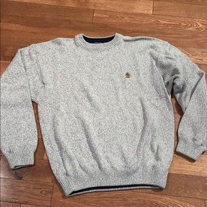 -Tommy Hilfiger Men's marble brown sweater large